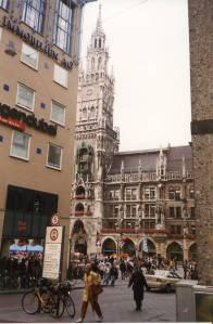 Münchenin keskustasta