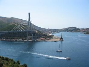 Kroatiassa matkan varrelta