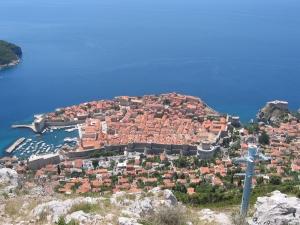 Dubrovnik tv-tornilta kuvattuna