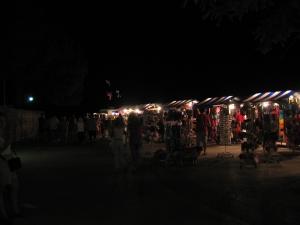 Iltamarkkinoilta lähellä Korculaa