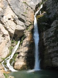 Savica vesiputous Bledin lähellä