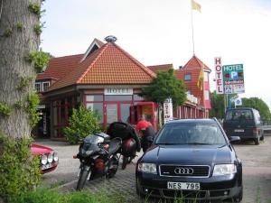 Hotelli Schultheiss toimi ekana majapaikkana tällä reissulla