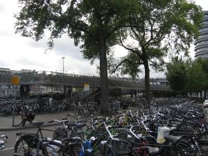 Hollantilaiset harrastavat ilmeisesti pyöräilyä