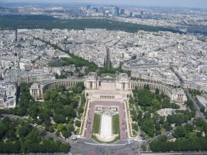 Näkymää Eiffelistä