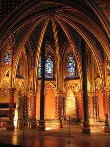 Notre Dame sisältä