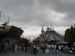 Disneylandin ehkä se paras laite