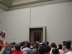 Louvre ja Se maaalaus...