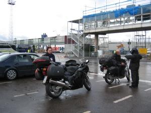 Satamassa Helsingissä