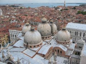 Basilica di San Marco ylhäältä