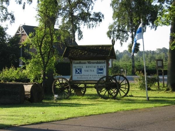 Landhaus Mienenbüttel. Kuva on eri kuin aiemmilla reissulla vaikka onkin lähes identtinen...