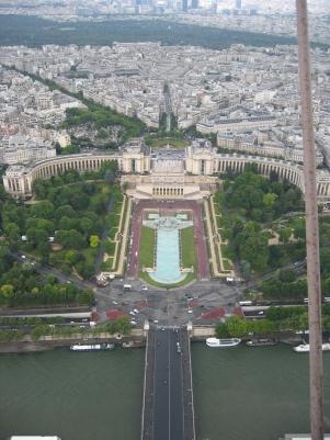 Näkymät Eiffelistä ovat aina huikeat
