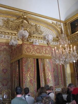 Aurinkokuninkaan Ludvig XIV:n makkari