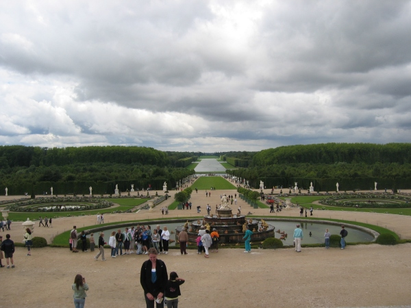 Latona Fountain and Parterre