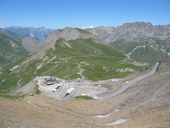 Col du Galibieriltä kuvattua