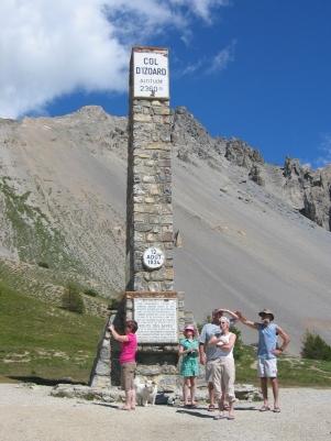 Col d'Izoardin huipulta