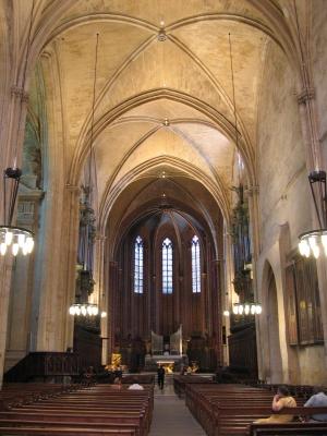 Aix-en-Provence ja joku kirkko