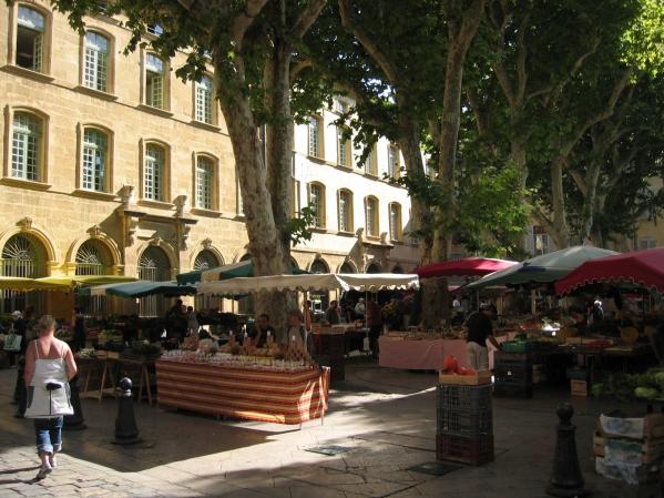 Aix-en-Provence ja tori