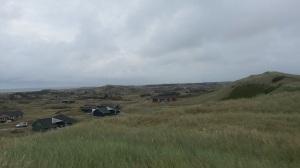 Hvide Sand. Näkymää lertsalta.  Holmsland Klit Camping