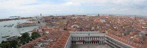 Näkymää Campanilestä Venetsiaan