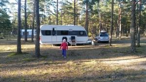 Camping Silversand Eka testireissu menossa