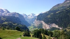 Junamatkalta Jungfraujochille.