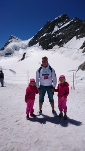 Huippu saavutettu - Jungfraujoch