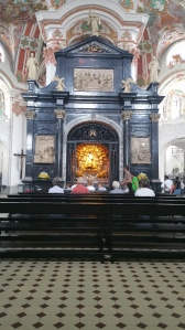 Einsiedelnin luostari - musta Madonna