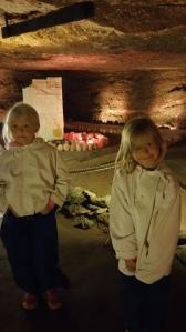 Salt Mine Hallein - suojavaatteet saatiin talon puolesta