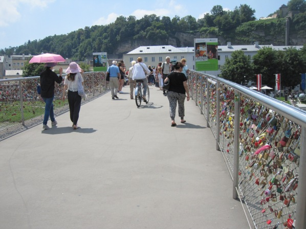 Salzburg - lukkosilta