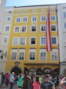 Salzburg - Mozartin synnyinkoti