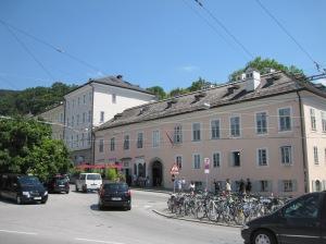 Salzburg - Mozartin asuintalo