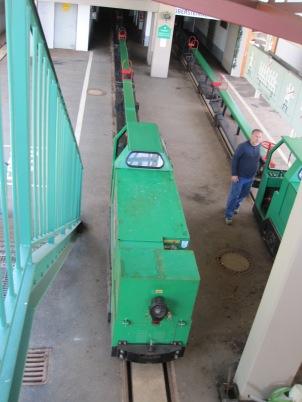 Salt Mine Hallein - juna lähtöasemalla