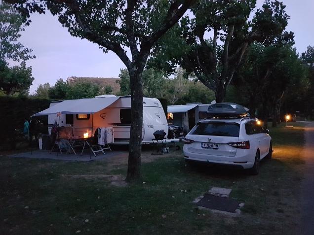 Camping Natur Parc L'Ardéchois - by night