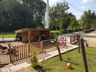 Camping Sites & Paysages de l'Etang - kotieläimiä