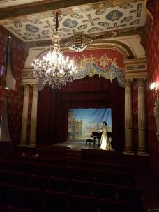Cháteau de Brissac - teatterisali