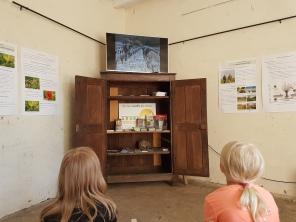 Domaine de Closel - Chateau des Vaults - kierros aloitettiin lyhyen videon katselulla