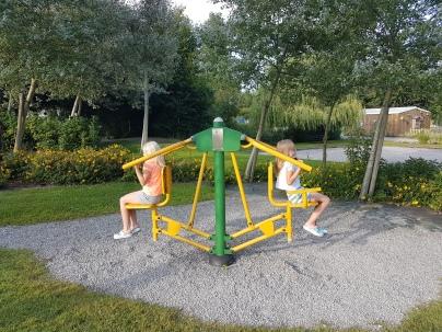 Camping Saint Michel - mahdollisuus myös kuntoiluun...