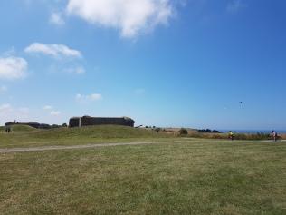 Normandia - saksalaisten tykistöpisteitä