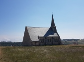 Etretat - kappeli huipulla
