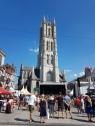 Gent - alueella oli todella monta esiintymislavaa ja esiintyjiä pilvin pimein