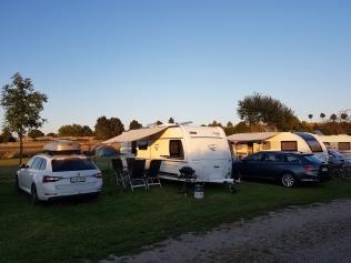 Camping Ivendorf - saatiin viimeinen sähköpaikka