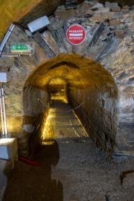 Cháteau de Brissac - tunnelista