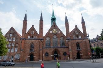Lübeck - Hospice of Holy Spirit
