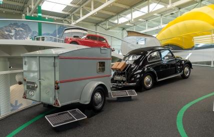 Erwin Hymer Museo - jaksaa se kuplakin vetää kun vaunu on tarpeeksi pieni