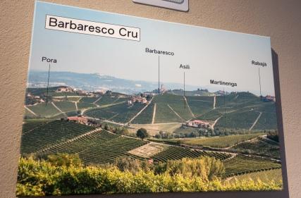 Ca' del Baio - aluekartta
