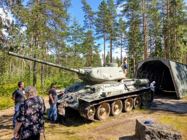 Bunkkerimuseo - panssarivaunu